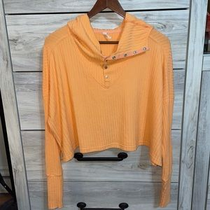 NWT Blissed Out Rib Henley
